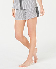 Ultra Soft Side-Stripe Pajama Shorts, Created for Macy's