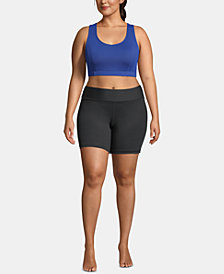 Champion Plus Size Strappy-Back Mid-Impact Sports Bra