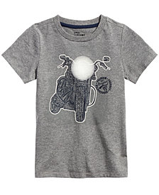 Epic Threads Little Boys Moto Glow Graphic T-Shirt