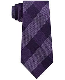 Michael Kors Men's Classic Plaid Tie