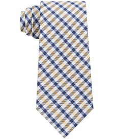 Tommy Hilfiger Men's Mini Gingham Silk Tie