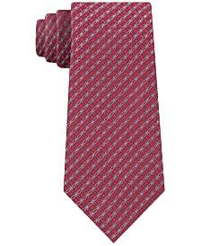 Calvin Klein Men's Molten Medallion Slim Tie