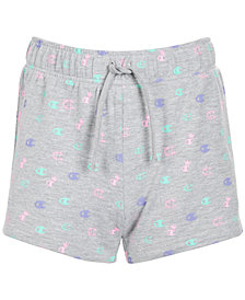 Champion Big Girls Allover Print French Terry Shorts
