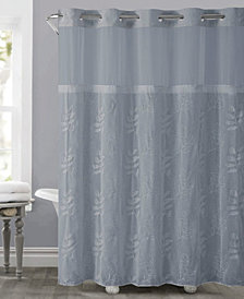 Hookless Palm Leaves 3-in-1 Shower Curtain
