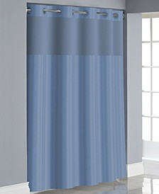 Victorian Satin Stripe 3-in-1 Shower Curtain