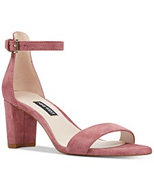 Women's Pruce Ankle Strap Block Heel Sandals
