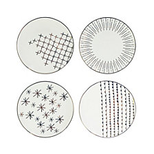 American Atelier Festive Plates, Set of 4