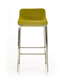 Modest Advil Modern Fabric Bar Stool
