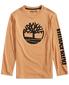 Timberland Big Boys Epsom Graphic Cotton T-Shirt