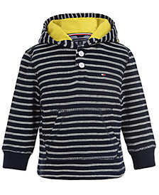 Tommy Hilfiger Baby Boys Hooded Cotton Top