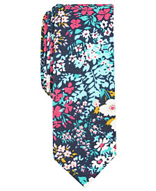 Original Penguin Men's Marko Skinny Floral Tie