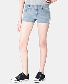 Big Girls Crochet Denim Shorts, Created for Macy's