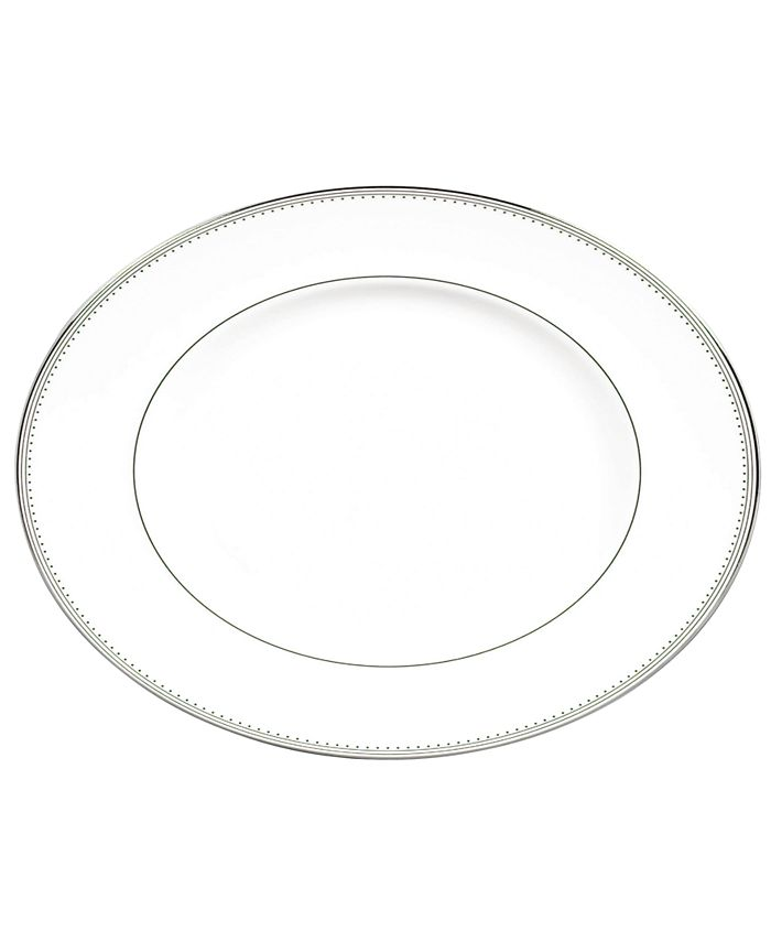 Vera Wang Wedgwood - Grosgrain Medium Oval Platter