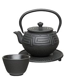BergHOFF Studio Collection 5-Pc. Cast Iron Tea Set
