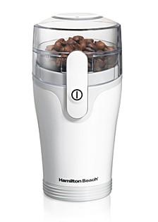 White Coffee Grinder