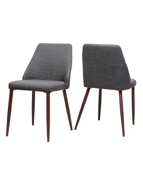 Noble House Marlee Dining Chairs (Set Of 2), Quick Ship