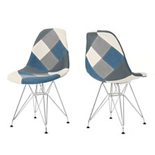 Wilmette Eiffel Dining Chairs (Set Of 2), Quick Ship
