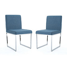 Delma Dining Chairs (Set of 2), Quick Ship