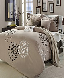 Cheila 8 Piece Queen Non Kit Comforter