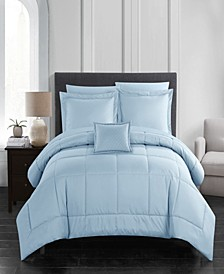 Jordyn 6 Piece Twin Bed In a Bag Comforter Set