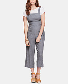 Free People Off The Shore Printed Jumpsuit