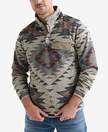 Lucky Brand Men's Fleece Aztec Sweater