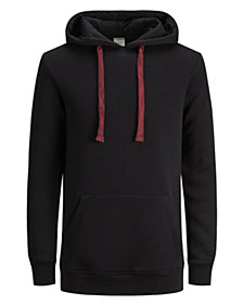 Jack & Jones Men's Letter Hooded Sweatshirt