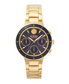 Versus Women's Harbour Heights Yellow Gold-Tone Stainless Steel Bracelet Watch 38mm