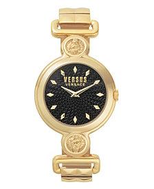 Versus Women's Sunnyridge Extension Yellow Gold-Tone Stainless Steel Bracelet Watch 34mm