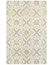 Oriental Weavers Craft 93004 Gray/Sand 5' x 8' Area Rug