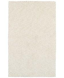 "Oriental Weavers Heavenly Shag 73402 Ivory/Ivory 6'6"" x 9'6"" Area Rug"