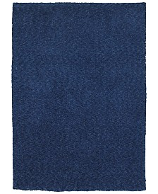 "Oriental Weavers Heavenly Shag 73408 Blue/Blue 6'6"" x 9'6"" Area Rug"