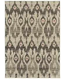 "Oriental Weavers Highlands 6301E Ivory/Gray 7'10"" x 10'10"" Area Rug"