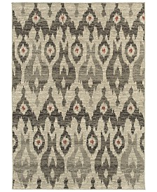 "Oriental Weavers Highlands 6301E Ivory/Gray 9'10"" x 12'10"" Area Rug"