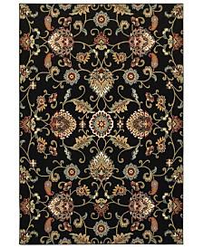 "Oriental Weavers Kashan 9946K Black/Multi 7'10"" x 10'10"" Area Rug"