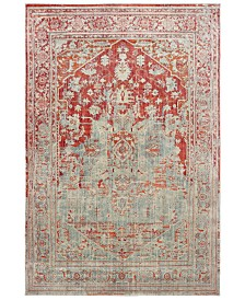 "Oriental Weavers Pandora 1501U Gray/Orange 7'10"" x 10'10"" Area Rug"