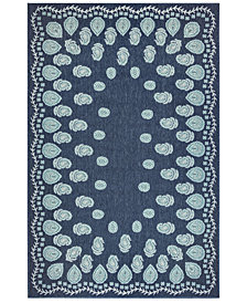 "Liora Manne' Riviera 7637 Tashi 7'10"" Indoor/Outdoor Square Area Rug"
