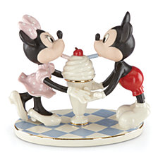 Lenox Soda Shoppe Sweethearts Figurine