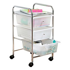 3 Drawer Rolling Cart
