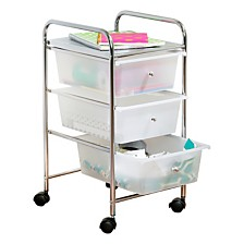 Honey Can Do 3 Drawer Rolling Cart
