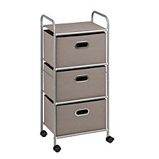 Honey Can Do 3-Drawer Rolling Cart