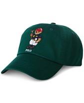 5110c429846 ... polo ralph lauren mens polo bear baseball cap created for macys