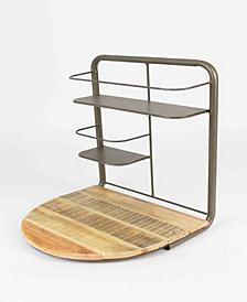 Kalalou Drop Leaf Bar Shelf