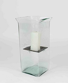 Square Large Candle Hurricane