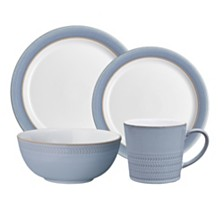 Denby Natural Denim 4-Piece Place Setting