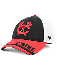 Fanatics Chicago Blackhawks Iconic Tech Trucker Snapback Cap