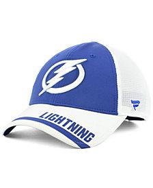 Fanatics Tampa Bay Lightning Iconic Tech Trucker Snapback Cap