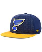 Authentic NHL Headwear St. Louis Blues Rinkside Snapback Cap caabb702e194