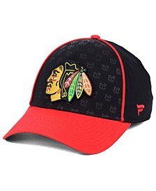 Fanatics Chicago Blackhawks Dual Speed Flex Stretch Fitted Cap
