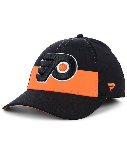 ca45aa37888c7d ... Authentic NHL Headwear Fanatics Philadelphia Flyers Alternate Jersey  Speed Flex Stretch Fitted Cap ...